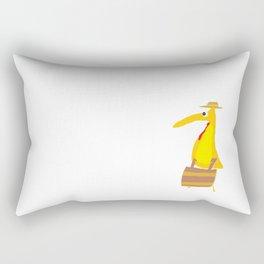 Busy Bird Rectangular Pillow
