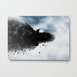 Reclaiming Nevermore Metal Print