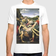 Raphael tri Mens Fitted Tee White MEDIUM