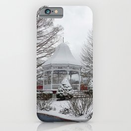 Gazebo and Cannon iPhone Case