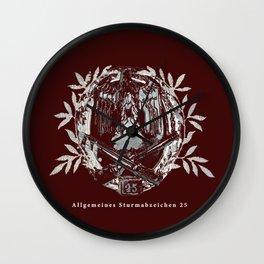 Black Eagle, Abstract  Wall Clock