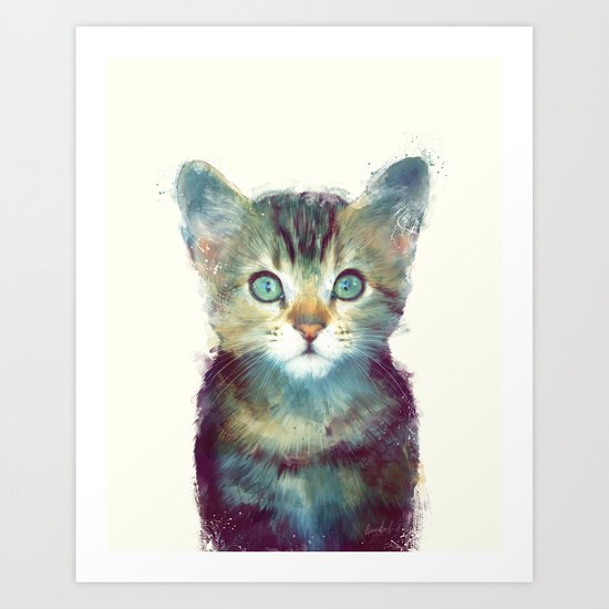 Cat // Aware Art Print