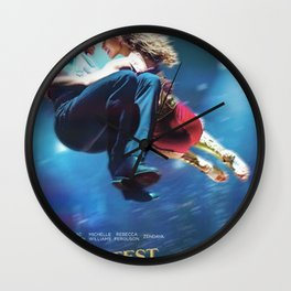 The Greatest Show Wall Clock
