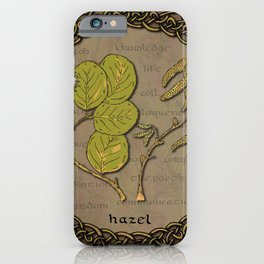 Celtic Hazel iPhone Case