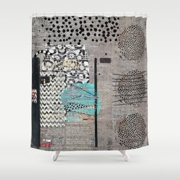 grey and coral shower curtain. Grey Teal Abstract Art Shower Curtain Cases Curtains  Society6