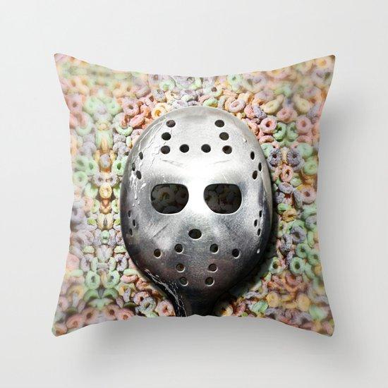 Cereal Killer Throw Pillow
