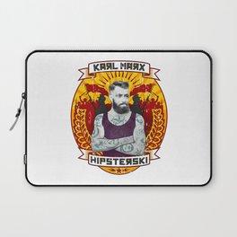 Karl Marx Hipster Laptop Sleeve
