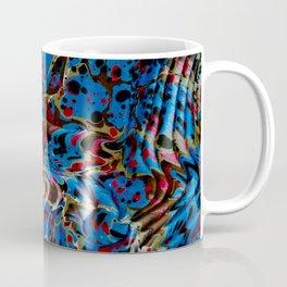 Marbled end paper (c. 1737) Coffee Mug