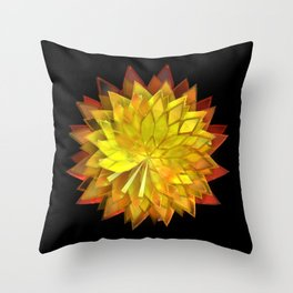 Autumn Leaves: Composition 4 Throw Pillow