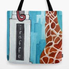 G for Giraffe - Alphabet City  Tote Bag