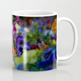 Rainbow Flowers Coffee Mug
