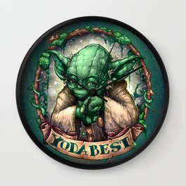 YoDaBeSt Wall Clock