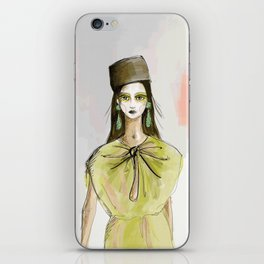 The cool Vivienne iPhone Skin