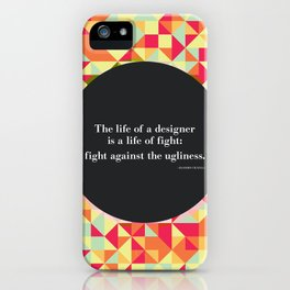 The life of a designer iPhone Case