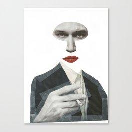 Mr Grey Canvas Print