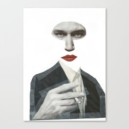 Mr Grey Canvas Print