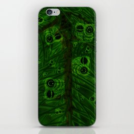 Mosaic of owls V2 iPhone Skin