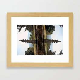 On a Axis Framed Art Print