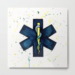 EMT Hero Metal Print