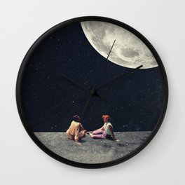 I Gave You the Moon for a Smile Wall Clock