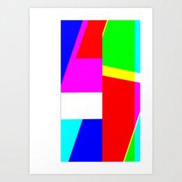 Error 001 Art Print