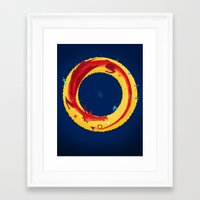the hobbit Framed Art Prints featuring Hobbit by Wharton