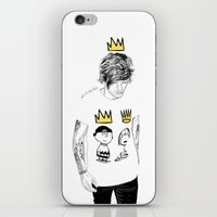 prince iPhone & iPod Skins featuring prince by otp-hedgefrog