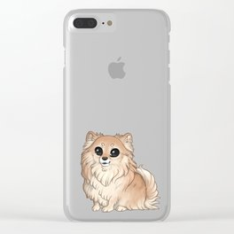 Band of paws - Kleinspitz trio Clear iPhone Case