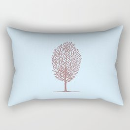Tree One Rectangular Pillow