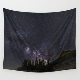 """""""Meteorite at the mountains"""" Wall Tapestry"""