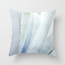 Mediterranean Aloe Throw Pillow