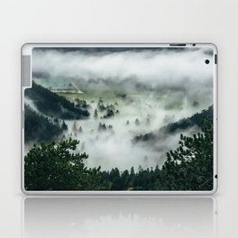 The Rolling Gray Laptop & iPad Skin