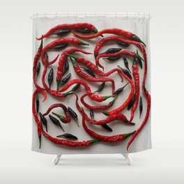 IT'S A SPICY KIND OF DAY! Shower Curtain