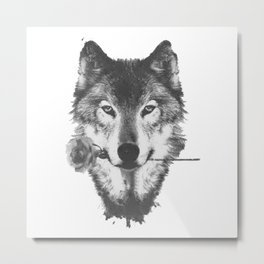 wolfblossom Metal Print