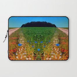 Summer flowers along the trail Laptop Sleeve