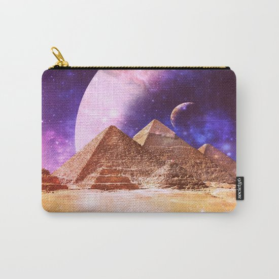 Galaxy Pyramids Carry-All Pouch