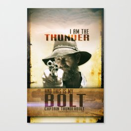 Thunderbolt Movie-I Am The Thunder Canvas Print