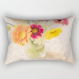 Summer Floral Rectangular Pillow