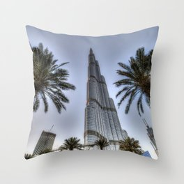 Burj Khalifa Dubai Throw Pillow