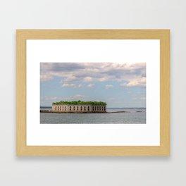 Ocean Fort Framed Art Print