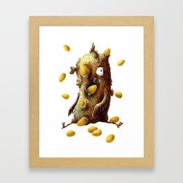 THE HEN WITH GOLDEN EGGS Framed Art Print