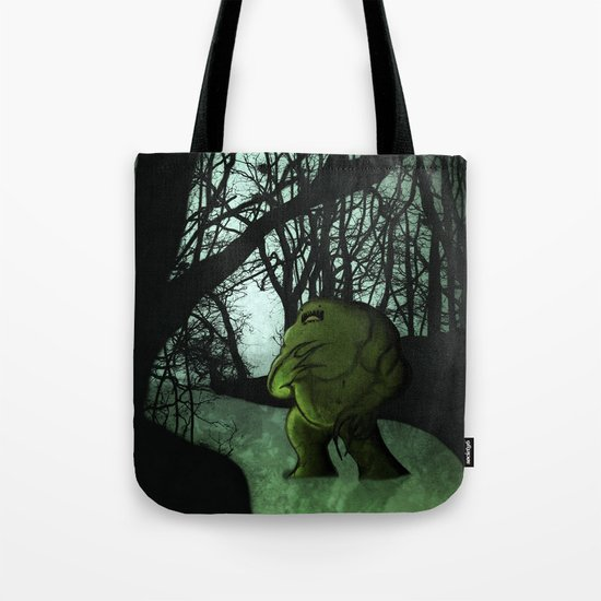 Swamp Creature Tote Bag