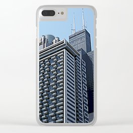 The City of Broad Shoulders Clear iPhone Case