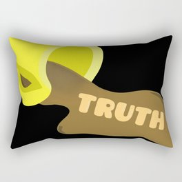 Spilling The Tea - Truth Rectangular Pillow
