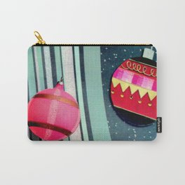 A Bit Of Pink Plaid Carry-All Pouch