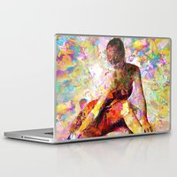 kandinsky Laptop & iPad Skins featuring Ballerina In Repose by Mark Compton