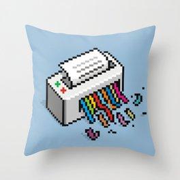 Input Output Throw Pillow