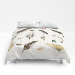 inner nature (feathers and leaves Comforters