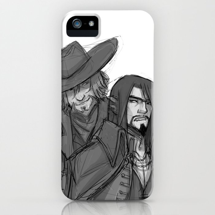 An Archer and an Oddity iPhone Case