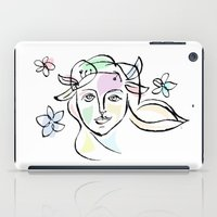 goddess iPad Cases featuring Goddess by G_Stevenson